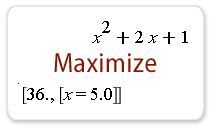 First year calculus: Minimums and Maximums