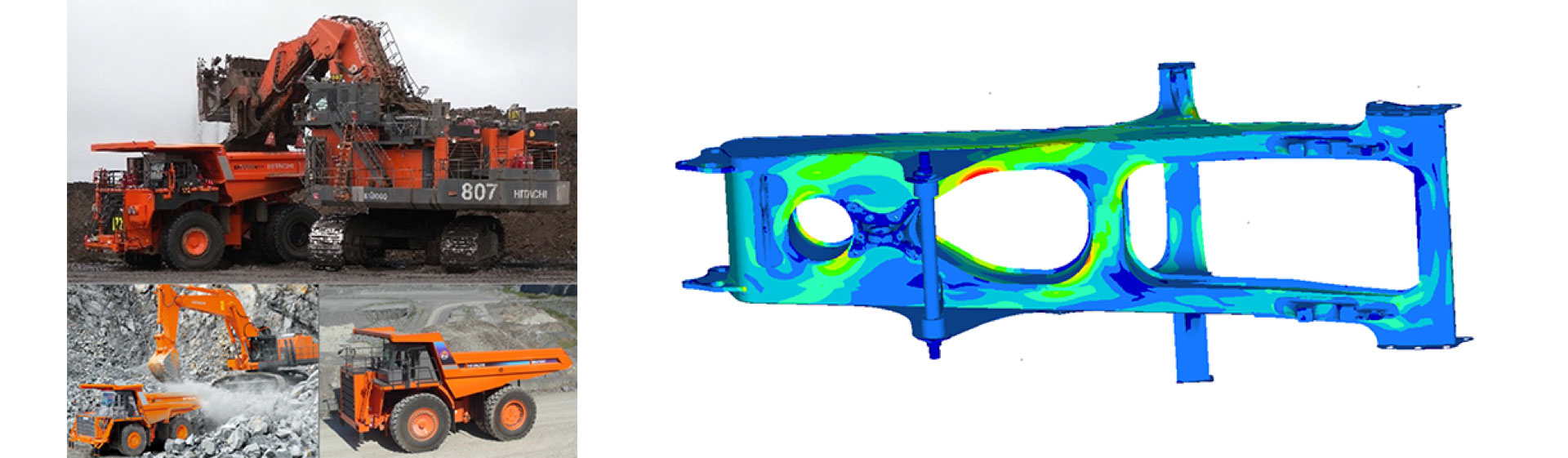Rigid frame vehicles and finite element analysis in Maple