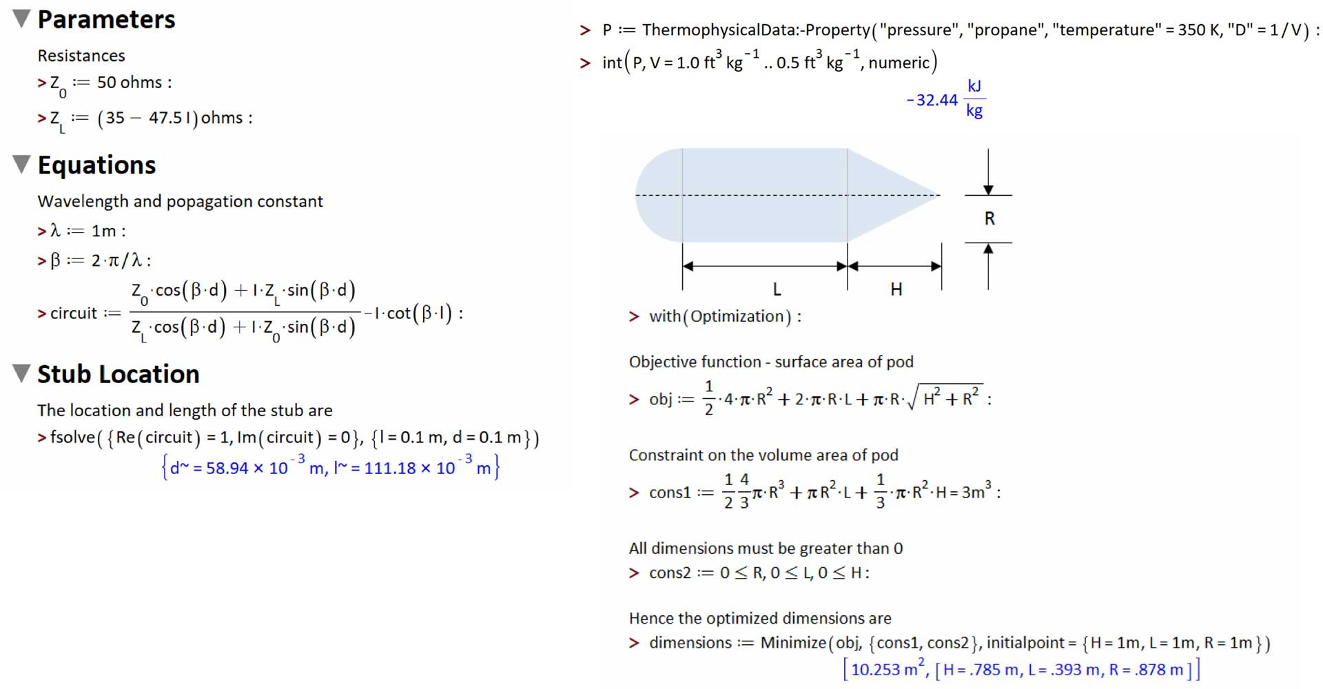 Numerical solution of equations, numerical integration and numerical optimization