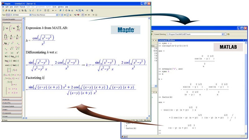 Symbolic Capabilities Maple Toolbox For Matlab Features Maplesoft
